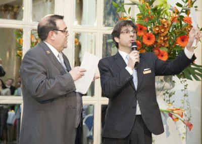El Gran Alfredo haciendo magia en el Hotel Ritz
