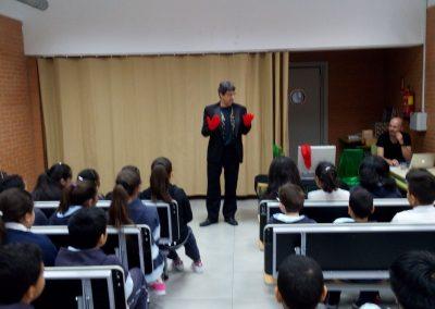 Prestimagia en el Colegio Beata María Ana de Jesús, Arganzuela Madrid